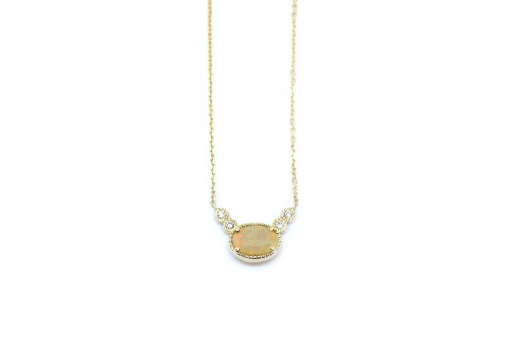 jennie kwon designs opal diamond dew necklace