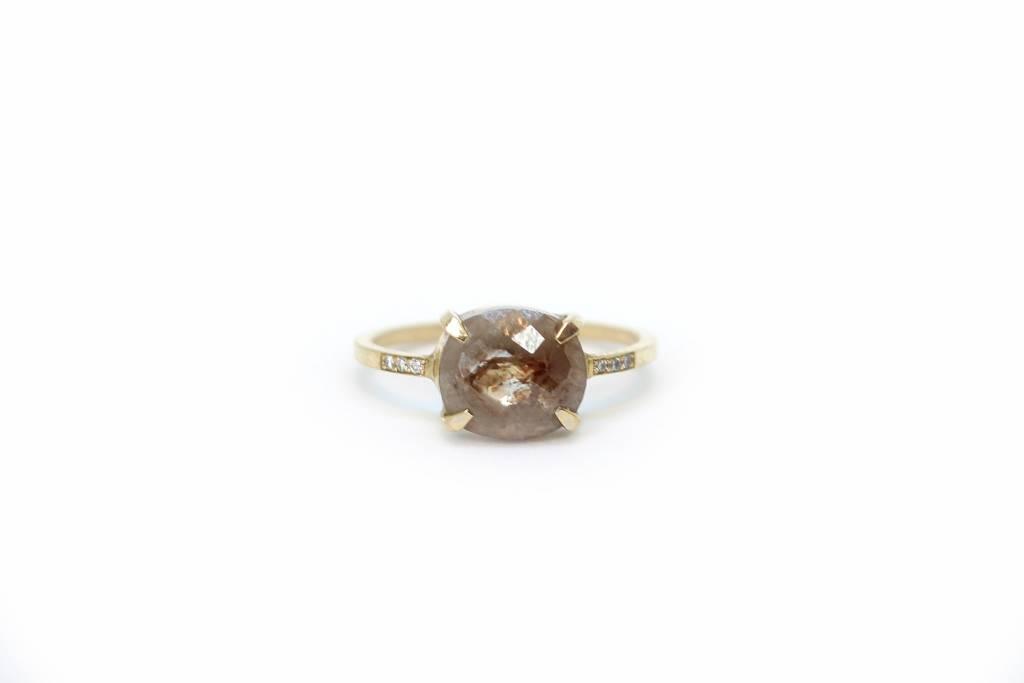 jennie kwon designs grey diamond slice equilibrium ring