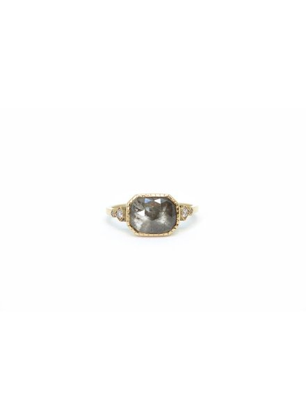 jennie kwon designs grey diamond slice ring