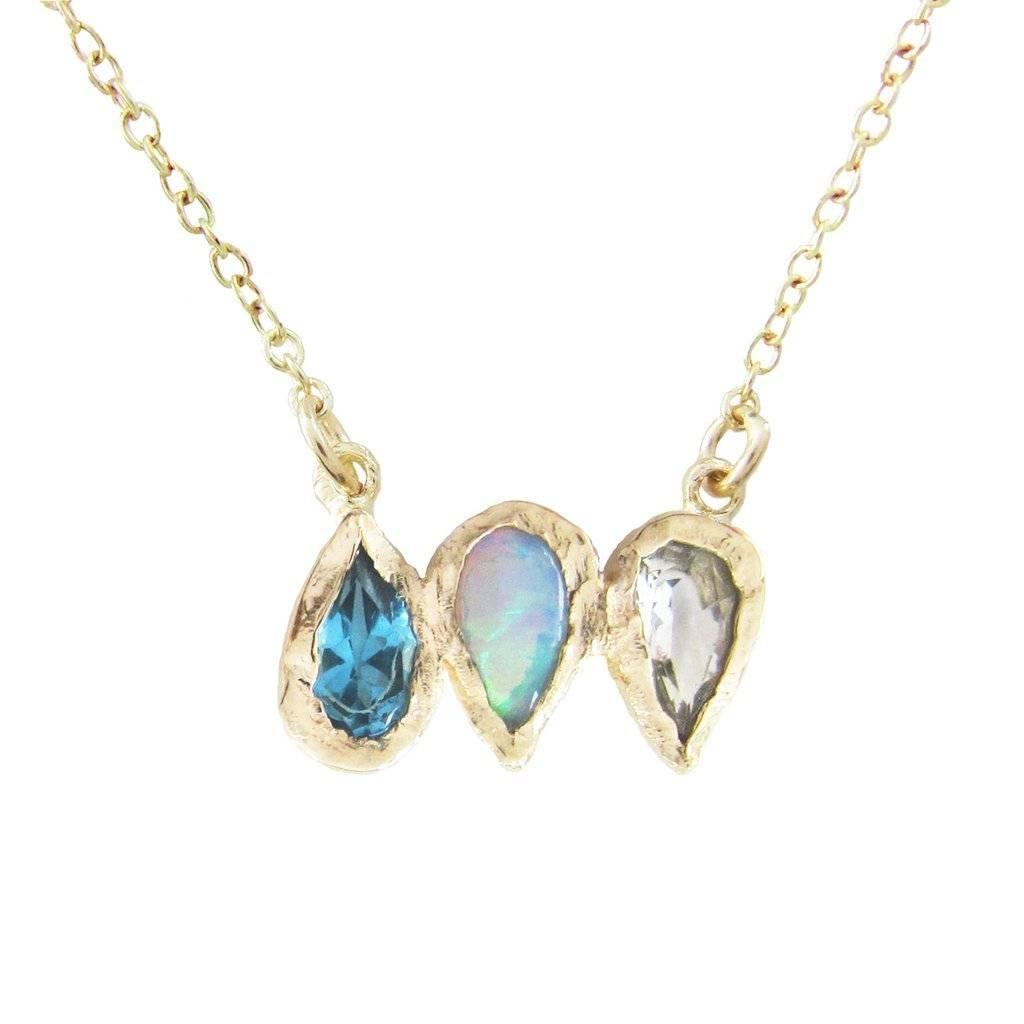 misa jewelry rising mermaid necklace