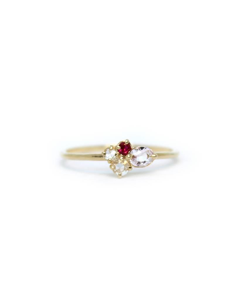 melanie casey jewelry mini cluster ring