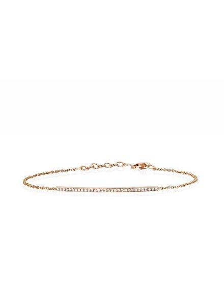 ef collection diamond bar chain bracelet
