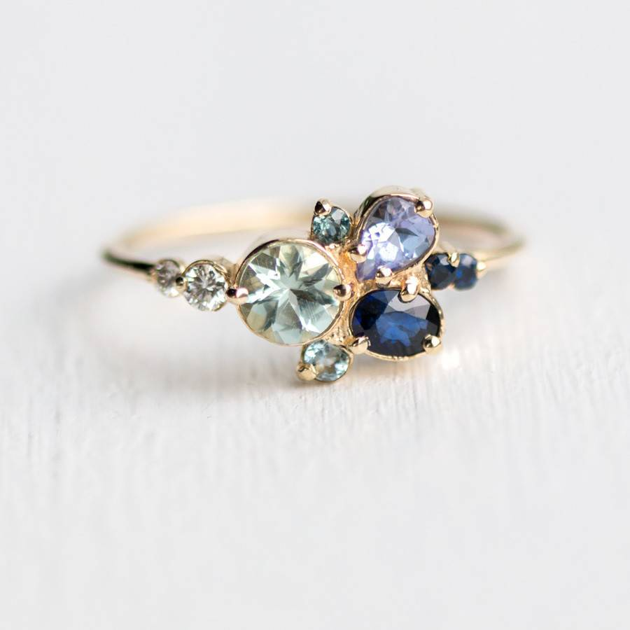 melanie casey jewelry clear water ring