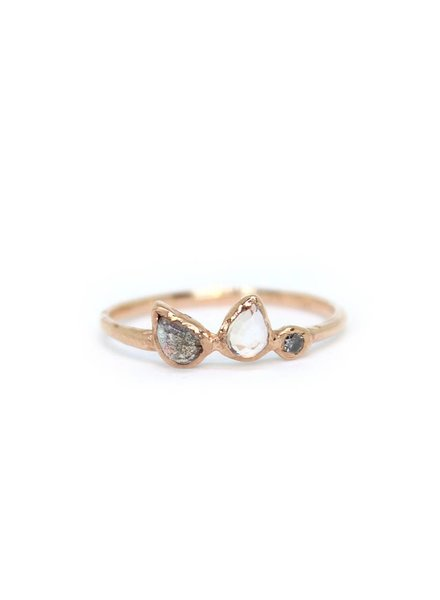 misa jewelry water lily ring