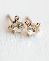 melanie casey jewelry flower bud stud earring