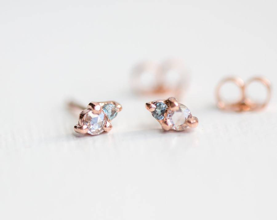 melanie casey jewelry little kinship studs - single