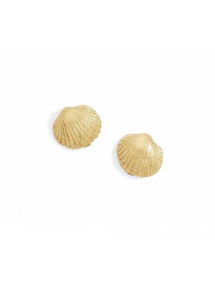 blanca monros gomez tiny seashell stud