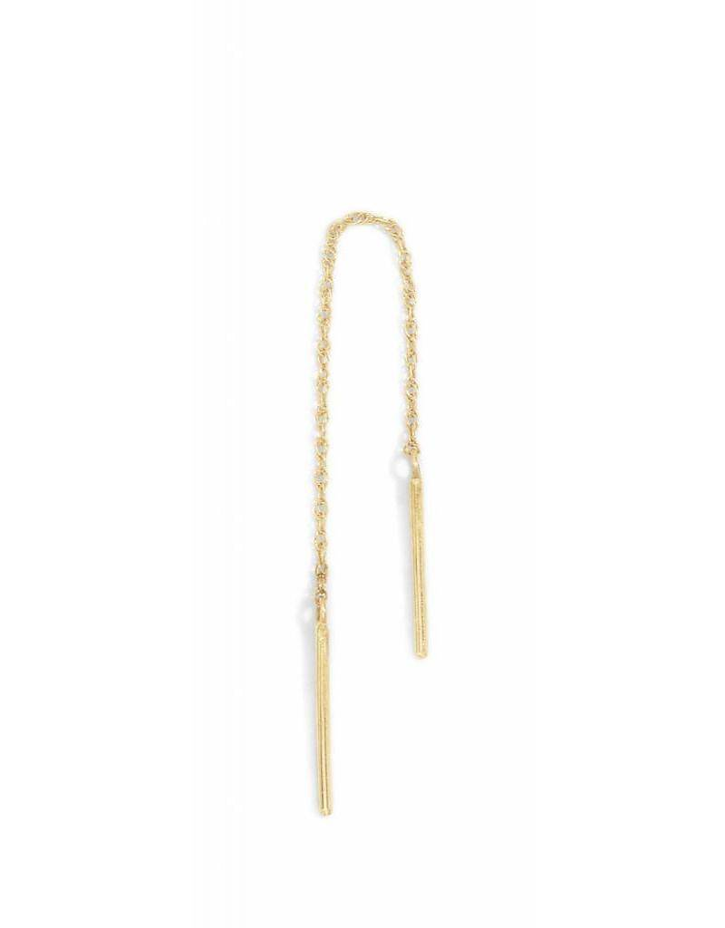 blanca monros gomez short stitch earring - single