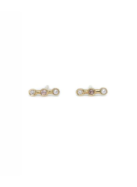 ariel gordon mini horizon studs