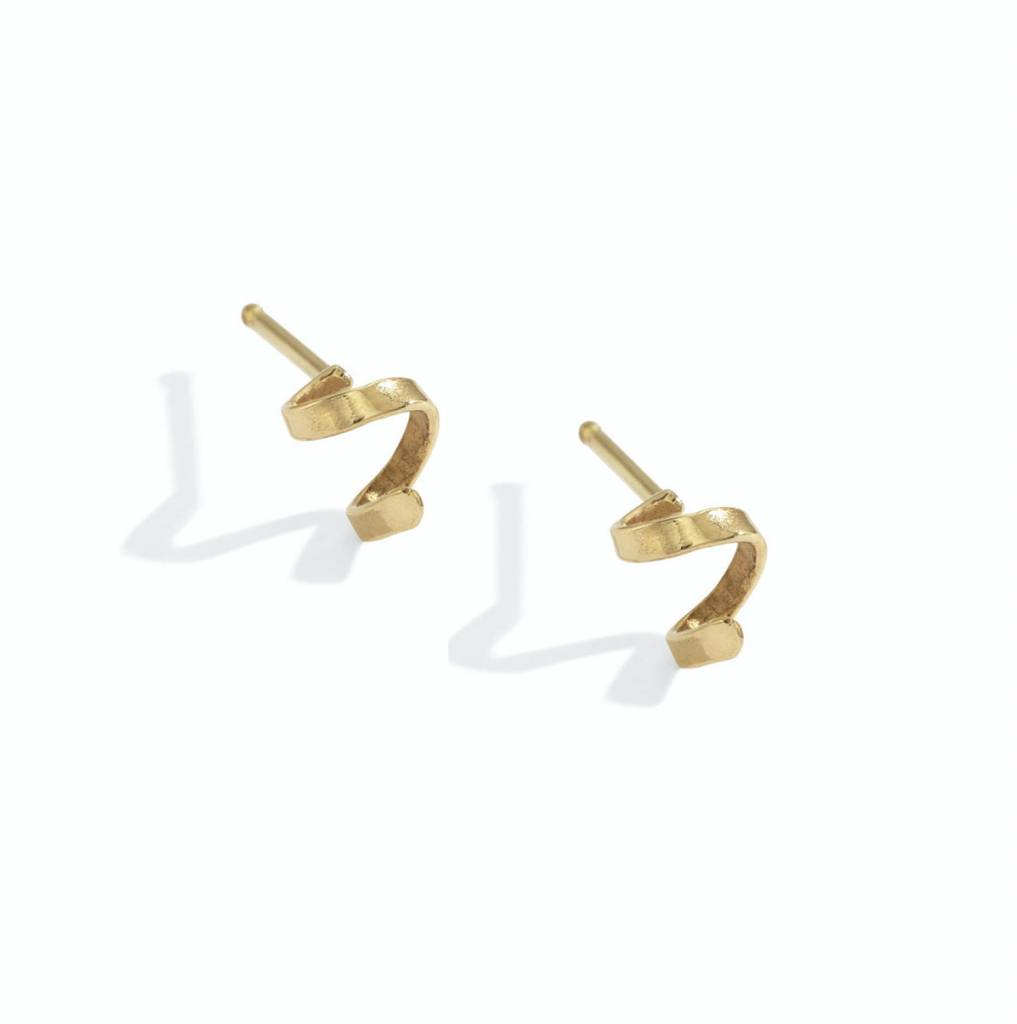 blanca monros gomez ribbon stud - single