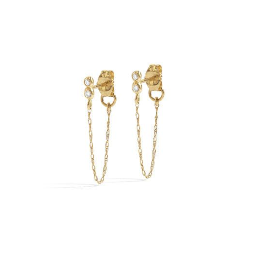 blanca monros gomez seed chain stud - single