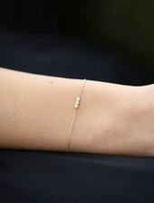 trio line diamond bracelet