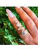 misa jewelry mini cove ring