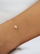 ferkos fine jewelry dainty quad bracelet
