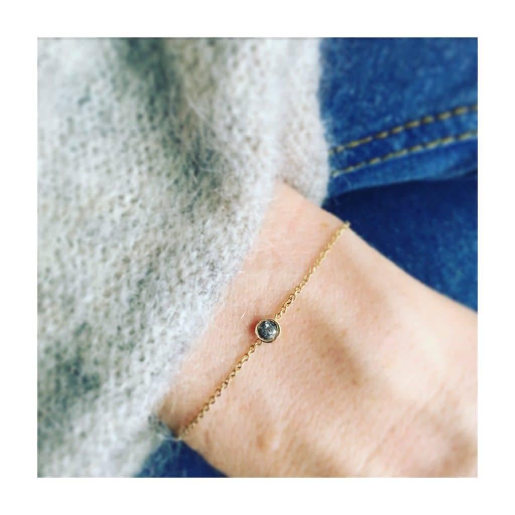 la kaiser salt and pepper point bracelet
