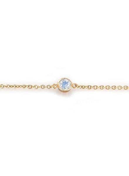 la kaiser moonstone point bracelet