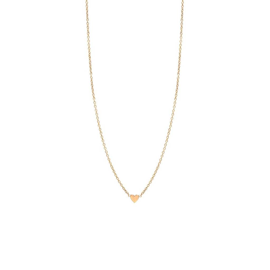 zoe chicco itty bitty heart necklace
