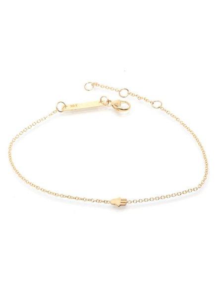 zoe chicco itty bitty hamsa bracelet