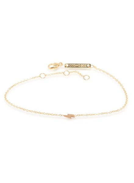 zoe chicco itty bitty lightning bolt bracelet