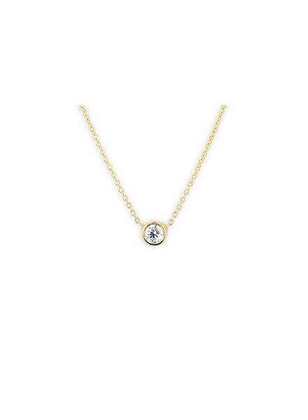 ferkos fine jewelry diamond solitaire necklace