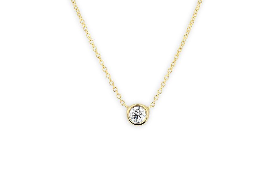 ferkos fine jewelry diamond solitaire necklace