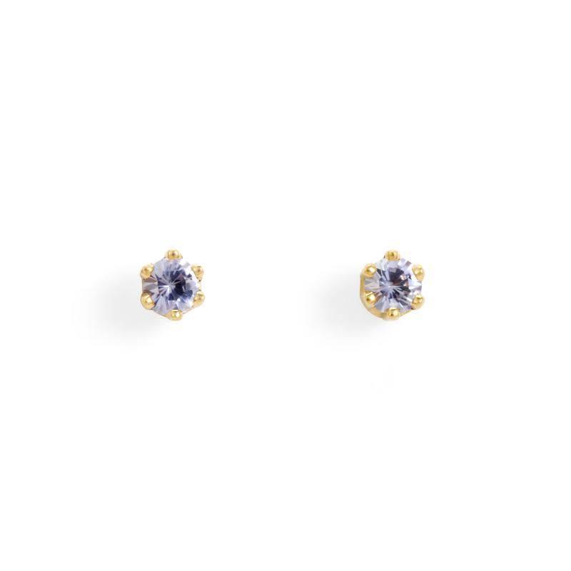 satomi kawakita jewelry baby tanzanite studs
