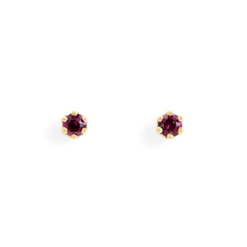 satomi kawakita jewelry baby garnet studs