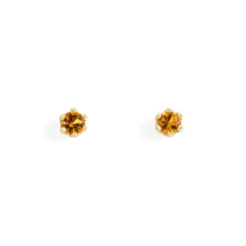 satomi kawakita jewelry baby citrine studs