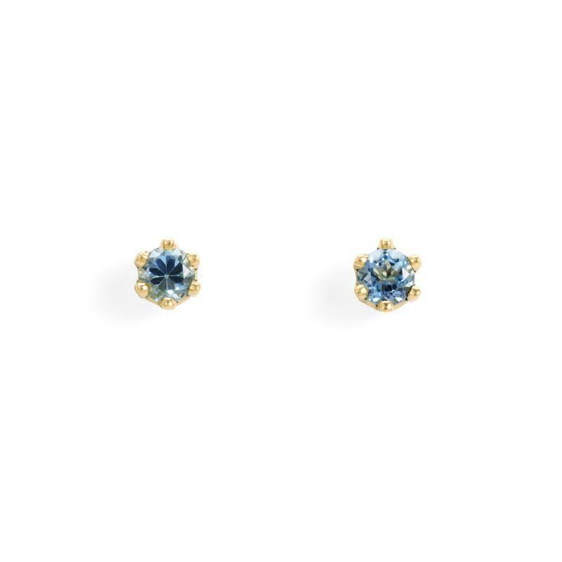 satomi kawakita jewelry baby aquamarine studs