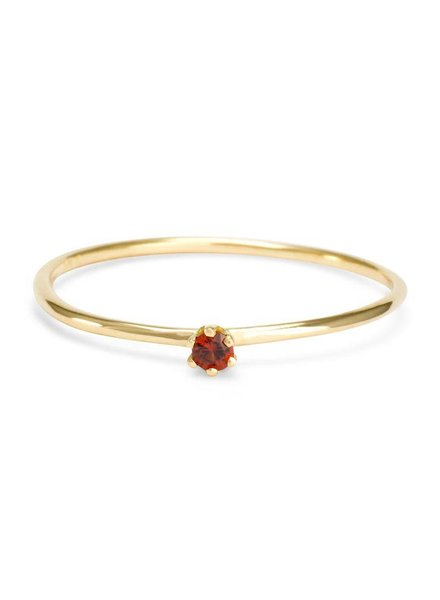 satomi kawakita jewelry baby garnet ring