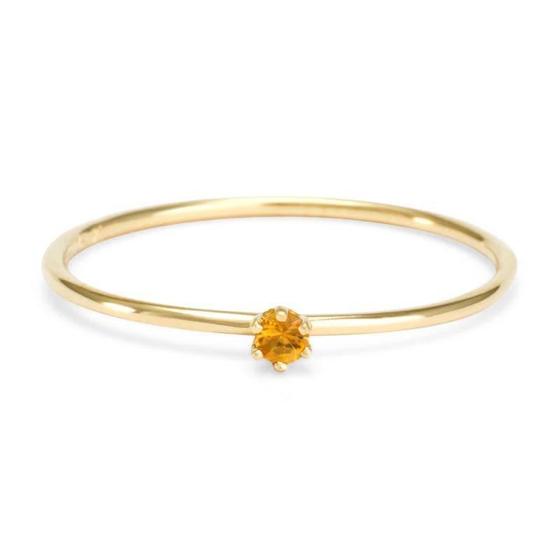 satomi kawakita jewelry baby citrine ring