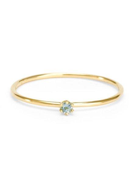 satomi kawakita jewelry baby aquamarine ring