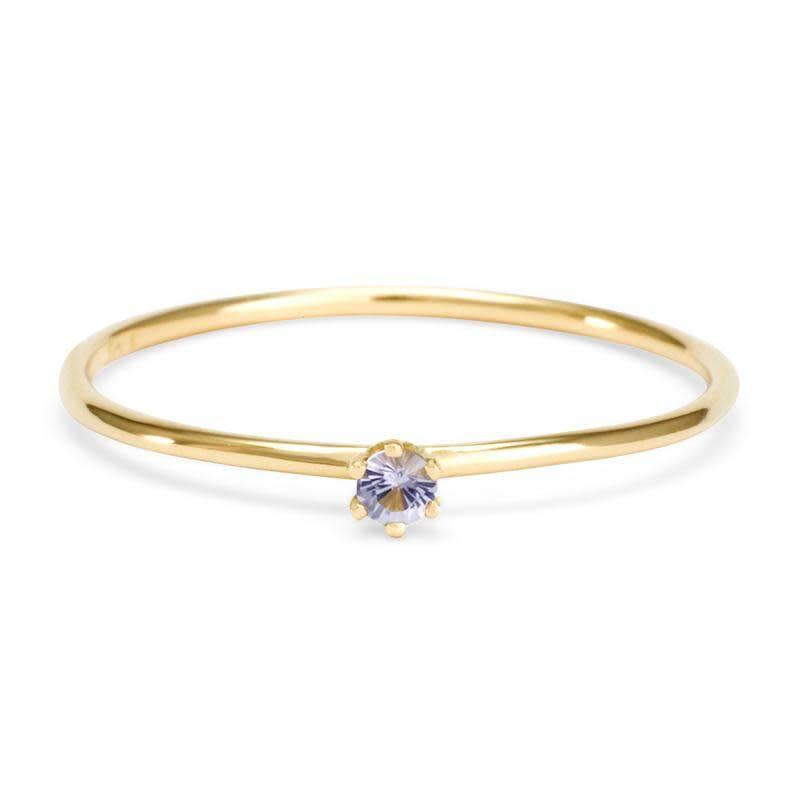 satomi kawakita jewelry baby tanzanite ring