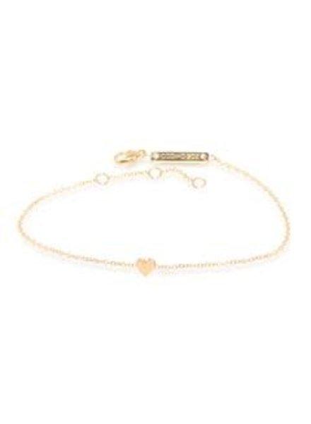 zoe chicco itty bitty heart bracelet