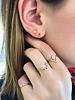 aili jewelry maya azul earrings w/ turquoise