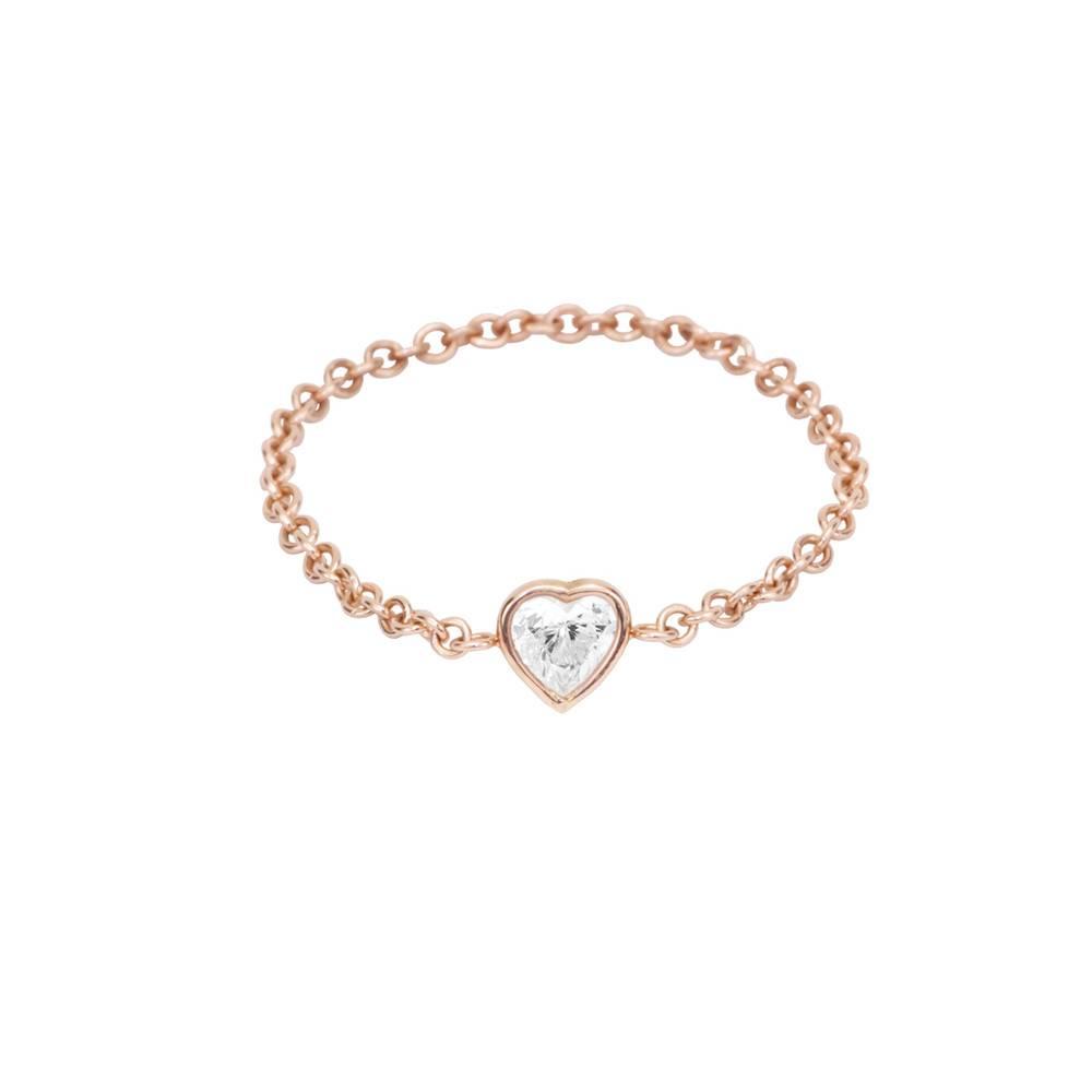 hortense white diamond je t'aime ring
