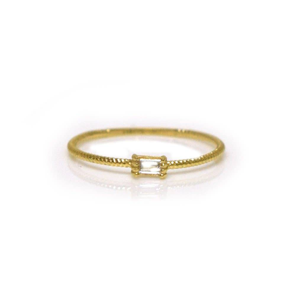 la kaiser golden grace twist ring ring