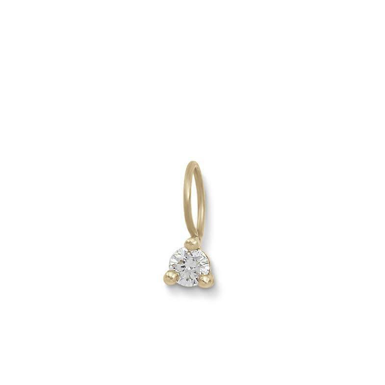 blanca monros gomez tiny diamond charm