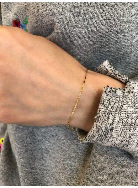 gjenmi haystack chain bracelet