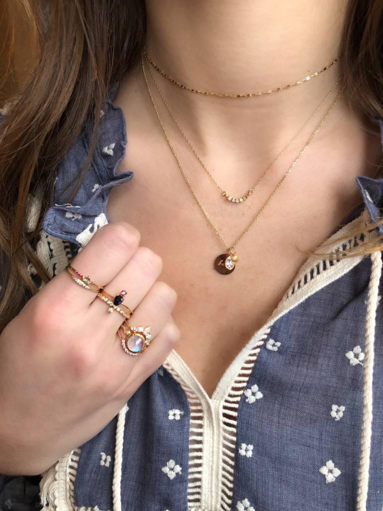 gjenmi layering necklace