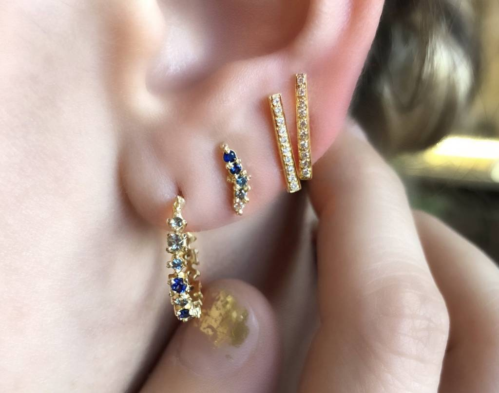 ruta reifen blue whoosh stud - sapphire