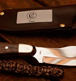 Chris Bird Knife By Chris Bird Wooden Handle with Paracord