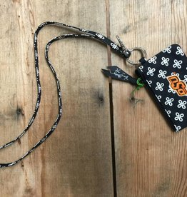 Vera Bradley Zip ID Case and Lanyard - OSU