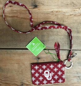 Vera Bradley Zip ID Case and Lanyard - OU