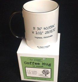 Fly Paper Guymon Oklahoma Mug