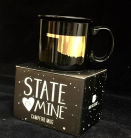 About Face Designs State of Oklahoma 13.5 oz Mug