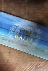 "Natural Life ""Live Happy"" Beach Slap Cozy"