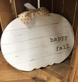Mud Pie Pumpkin Shaped Door Hanger