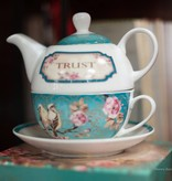 Christian Art Gifts Tea for One Trust