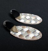 PRUDENCE C - Jewelry Designs Earrings - Prudence C Crystal Beads Silver Base Metal